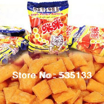 Crab flavor wheat grain product salty chinese characteristics snacks mimi brand strip food package of bag shelf life of 300 days(China (Mainland))