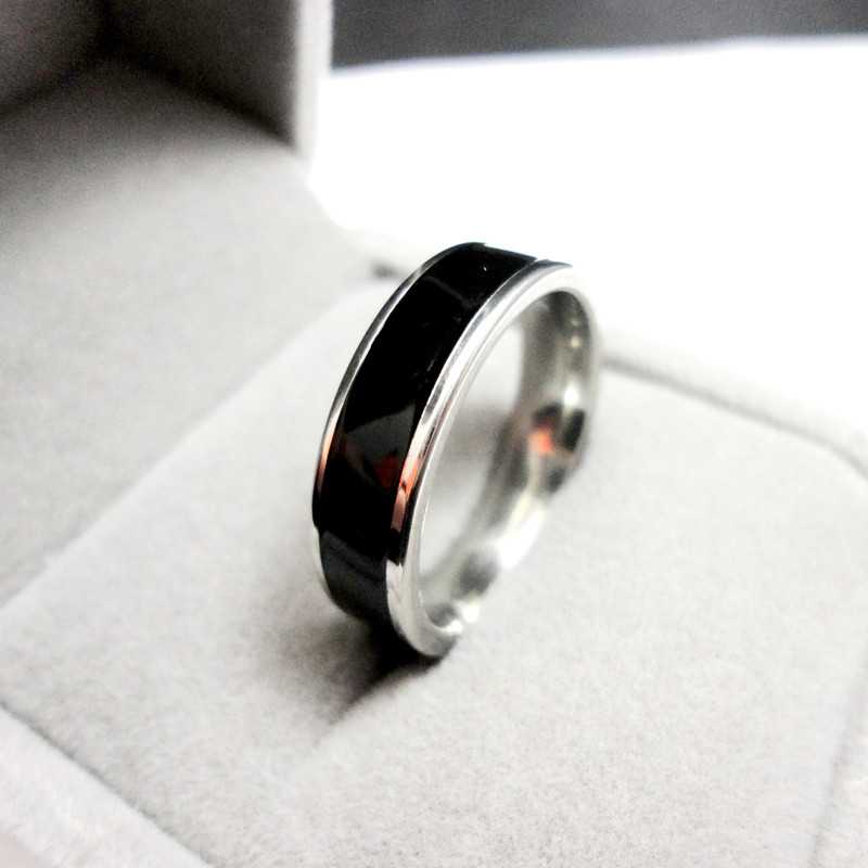 2016 Fashion Jewelry Classic Couple Ring For women or man Eternity Love Witness of love Stainless Steel Rings Free Shipping S215