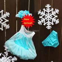 3pcs/set Baby Girl Party Dress Summer Dress For Recem Nascido And Meninas Princess Dress Vestido Bebe Menina KF020(China (Mainland))