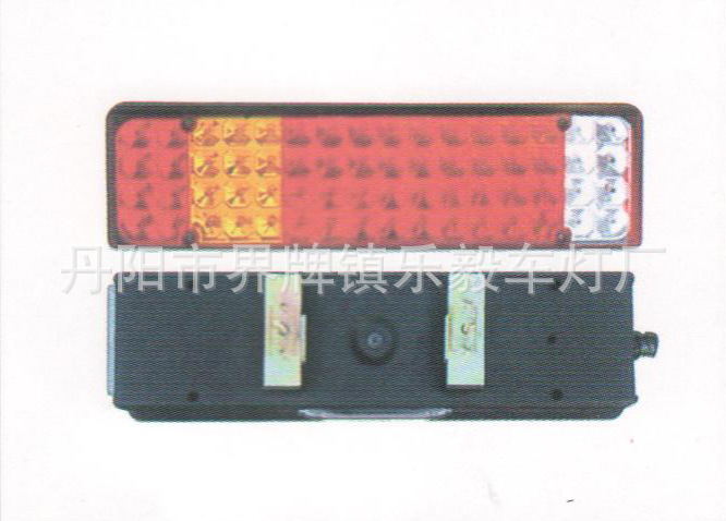 After highlighting electronic manufacturers supply LED taillights led taillights Tianlong truck trailer truck taillights(China (Mainland))