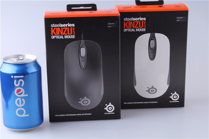 Steelseries Kinzu V2 V3 White Black Optical Gaming Mouse Mause 4000 DPI for laptop mac muis