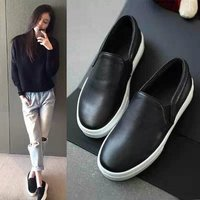 2015 new fashion Casual Pu Shoes Lazy Shoes Sneaker Basic Women's flats Casual Horsehair shoes For women Spring Autumn
