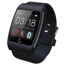 FLOVEME Marca Deporte Al Aire Libre Reloj Inteligente Reloj Bluetooth Sync Notificador iOS Android Monitor de Salud Smartwatch para iPhone/Samsung