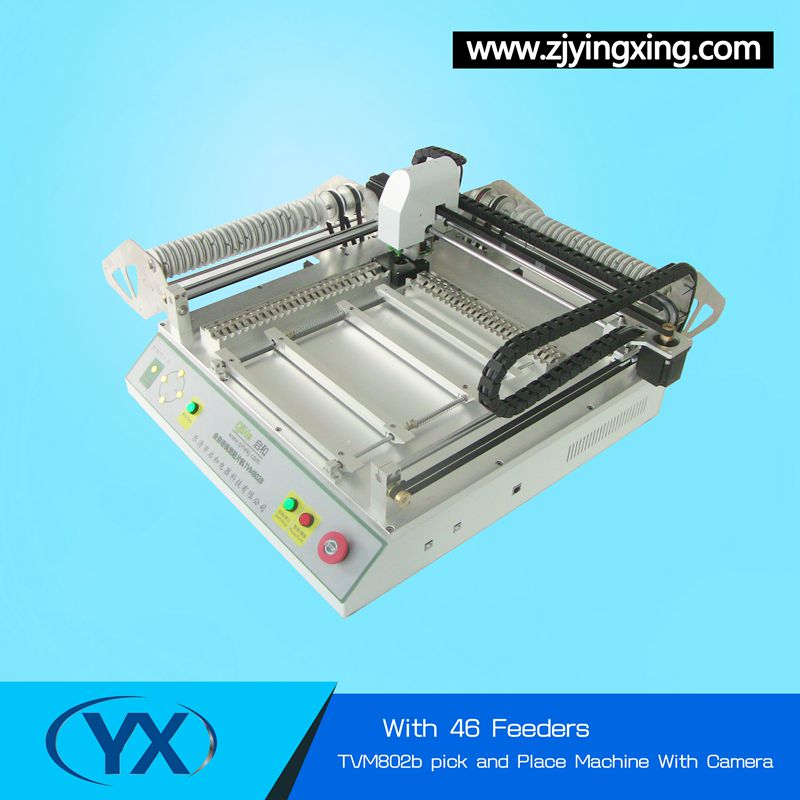 Used SMT Machine TVM802B Pick and Place Machine Soldering Machine WIth The Best Price Manual Small PNP Machine(China (Mainland))