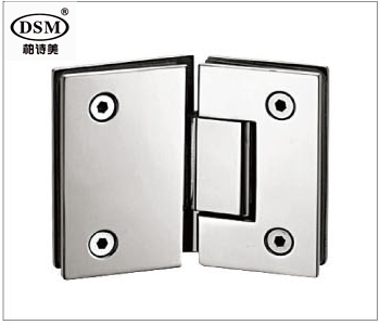 135 Degree Shower Door Hinge Precision-Cast 304 Stainless Steel Clamp DC-1034 Glass to Glass Mounted(China (Mainland))