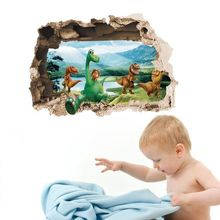 The Good Dinosaur 3D Removable Wall Sticker Vinyl Art Decal Kids Room Home Decor(China (Mainland))