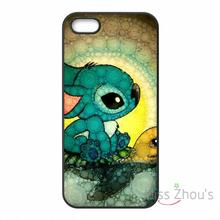 For iphone 4/4s 5/5s 5c SE 6/6s plus ipod touch 4/5/6 back skins mobile cellphone cases cover Lilo And Stitch Turtle