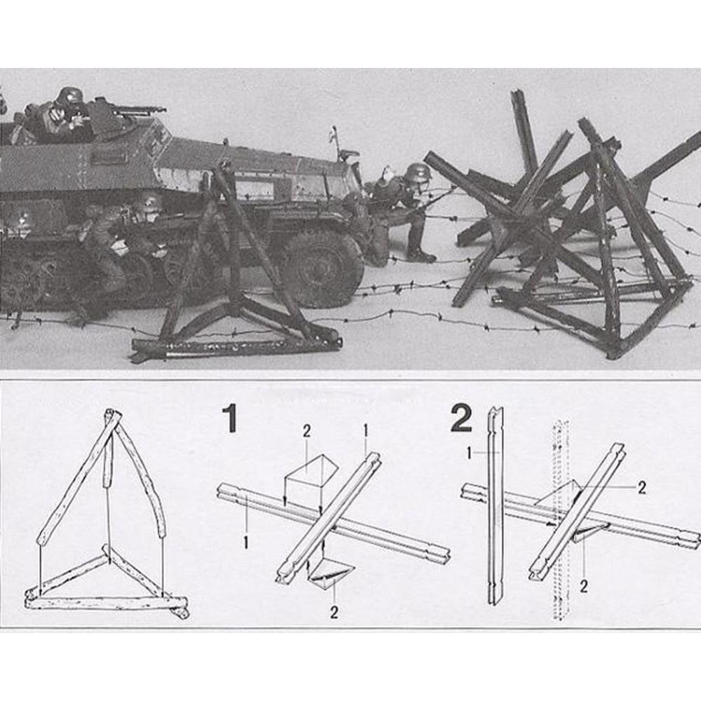 Ohs Tamiya 35027 1 35 Barricade Set Assembly Military Miniatures 3d Origami Swan Diagram Ii By Bunna X3 11 8 9 10 12