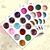 2015New! 60X Nail Art DIY Decoration Rhinestone Glitter Powder Dust For UV Gel Acrylic 3D Decor Tips