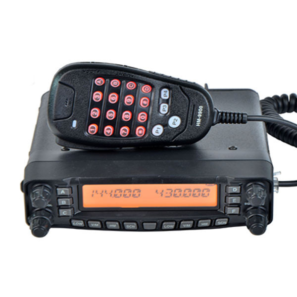 Free Shipping Front Panel Detachable 29/50/144/430Mhz Cross Band Multiband Radio(China (Mainland))