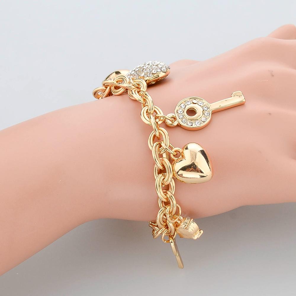 Aliexpress.com : Buy Fashion Heart Beetle Charm Bracelets ...