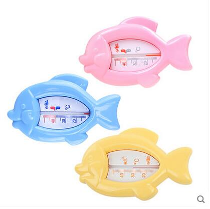 Cute fish type Baby water meter Room count Fish-shaped thermometer 0-40C(China (Mainland))