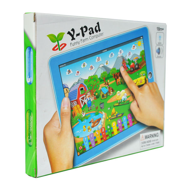 Hot Sales Y Pad English,Early Educational Toys,Touch Screen Kids Laptop Learning Machine with English Learn(China (Mainland))