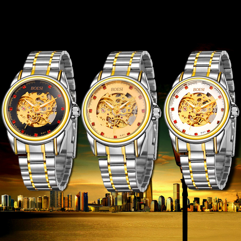 Mens watches top brand luxury relogio masculino automatic watch montre homme - Vaisselle de luxe marque ...