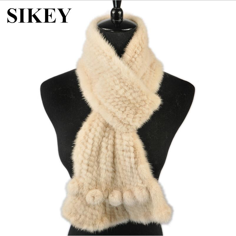SCM037 100% real genuine mink fur colorful scarf women's mink winter warmer solid fashion scarves(China (Mainland))