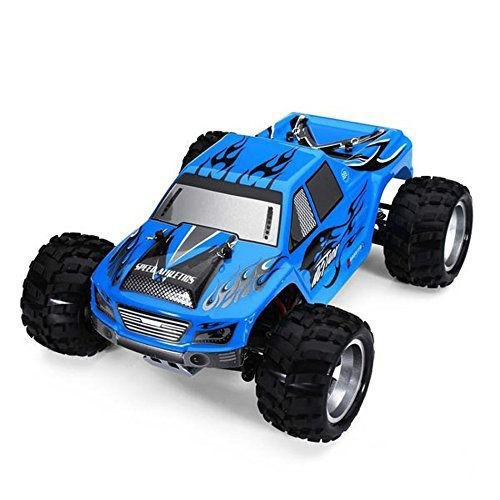 F11745 WLtoys A979 1:18 Full Scale Remote Control Car RC 4WD High Speed Race Toy Cars with Shock Resistant 50KM/H Blue<br><br>Aliexpress