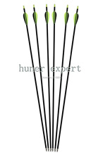 "free shiping 12pcs fiberglass archery arrows 32"" china bow arrow with replaceable arrow point for 50lbs compound bow"