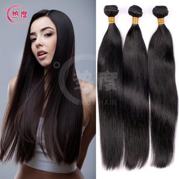 Unprocessed Malaysian virgin hair straight 3 bundles 6A grade virgin malaysian hair human hair weave