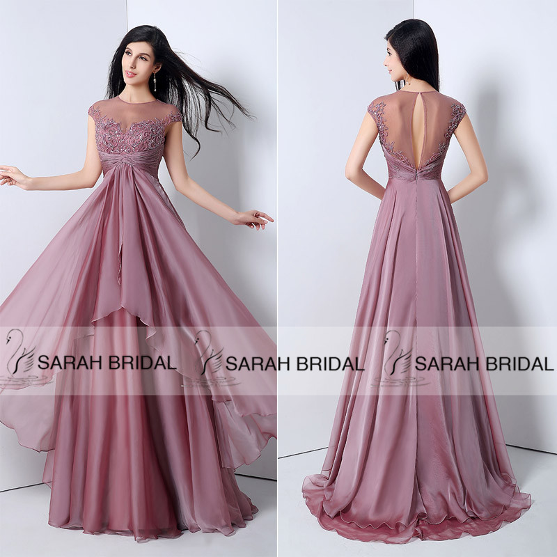 Mauve ball gown women s gown and dresses