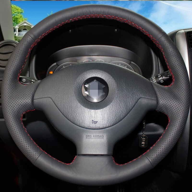 Hand-stitched Car Steering Wheel Cover for Suzuki Jimny Car Special(China (Mainland))