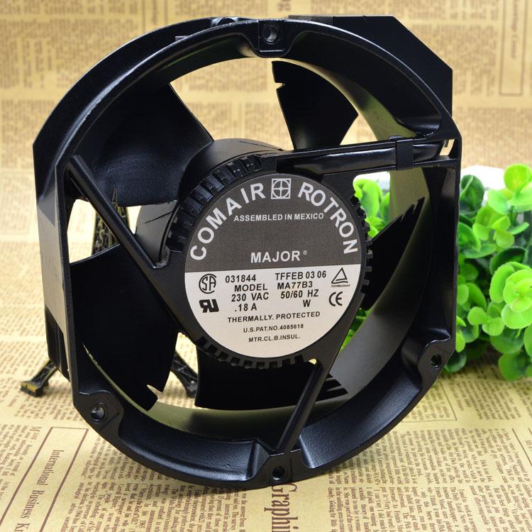 Здесь продается  Original COMAIR ROTRON 230VAC 172MMX55MM MA77B3 Aluminum frame cooling fan  Компьютер & сеть