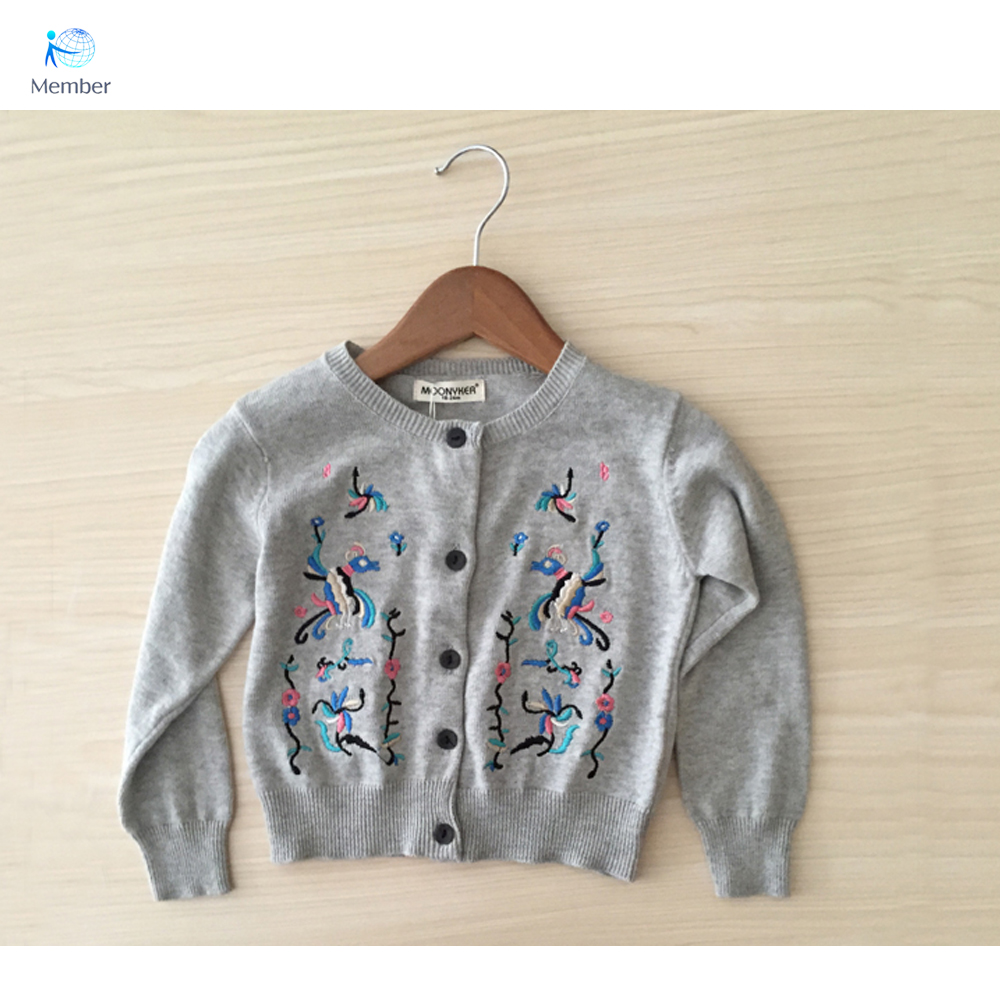 sweater for girls Dongkuan embroidered cardigan Childrens knit cardigan Tee Family fitted Cotton sweater girls sweater 30#<br><br>Aliexpress