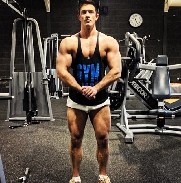 New collecetion gymshark men s tank tops supermen titan