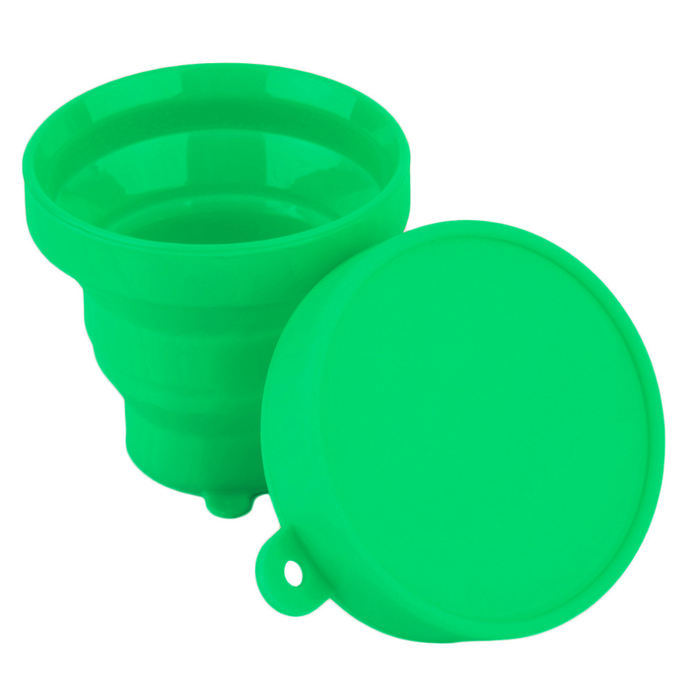 Hot Selling Portable Silicone Retractable Folding Cup Telescopic Collapsible Outdoor Bathing tool