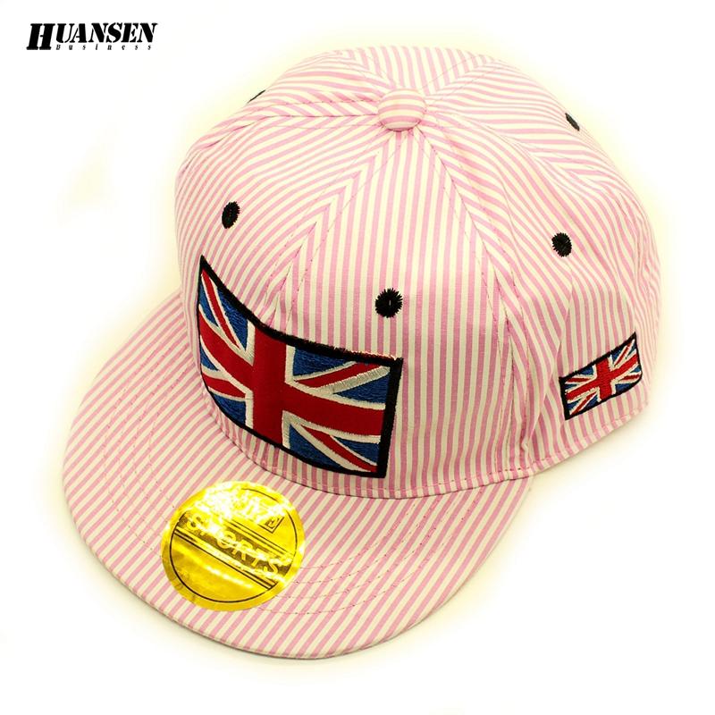 Spring summer baby baseball cap Popular cap brand Trendy cap kids Nice hats hip hop Unique cheap baseball caps stripe SPMZ046(China (Mainland))