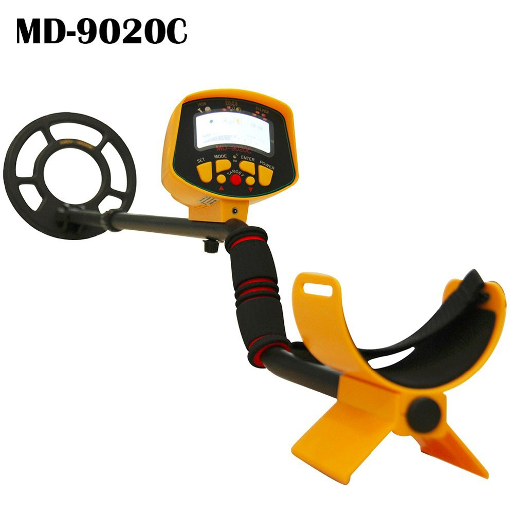 Underground Search Metal Detector MD9020C Gold Digger Gold Detector Treasure Hunter Seeker MD-9020C with Updated Backlight