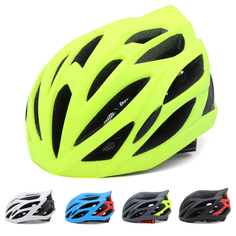 2016 Ultralight Sport Outdoor Cycling Safety Helmet Head Protect Bicycle MTB Road Bike Adjustable Helmet for Men and Women