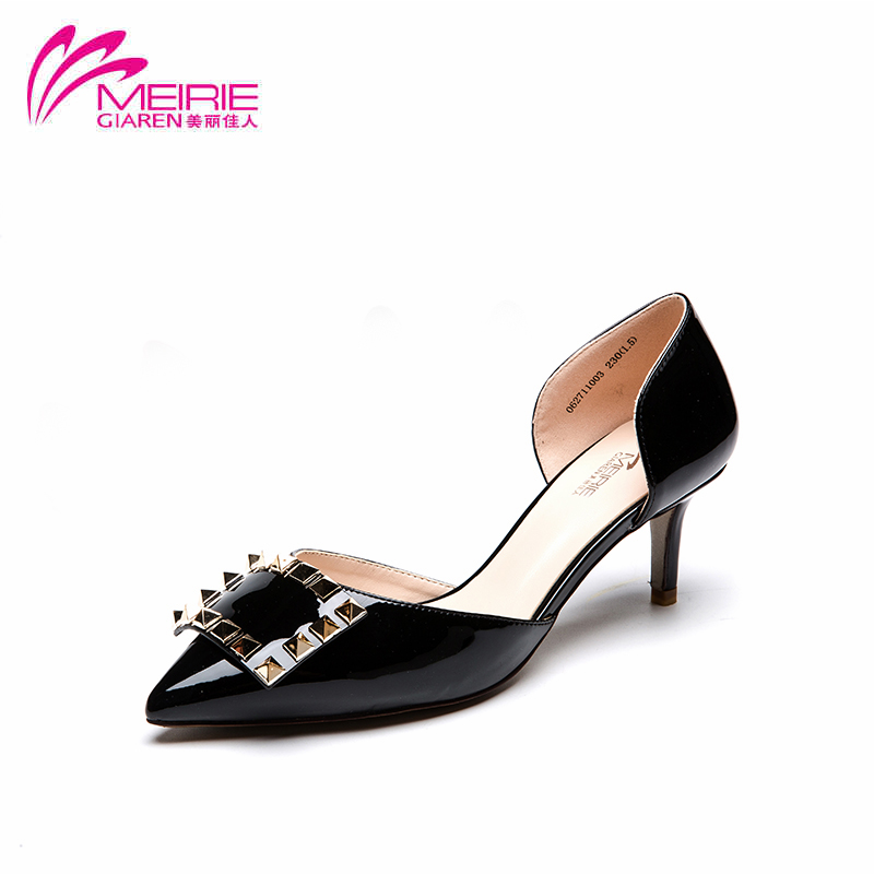 Aokang 2016 New Arrival Vintage Shoes Women Sandals High Heels Sexy Platform sandals pointed Toe Wedge Party Free shipping