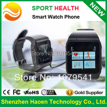 Hear Rate Monitor Wrist Watch Phone, Health Hand Watch with GSM Phone Pedometer and GPS Tracker SOS Watch Phone Mobile Sport(China (Mainland))