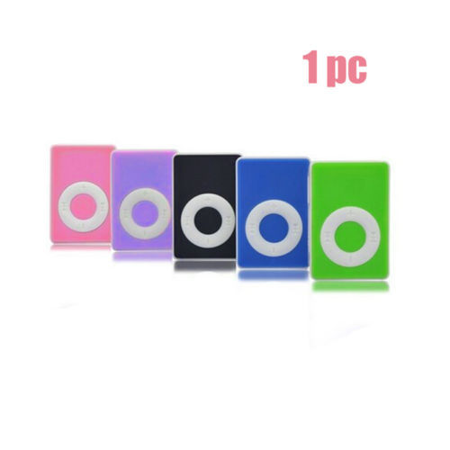 Hot 5 Colors Support Up To 8GB Mini Clip USB MP3 Player Micro SD TF Memory