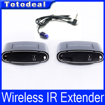 New 433MHz Wireless IR Remote Extender Set Top Box Repeater 200M Transmitter 2.4ghz
