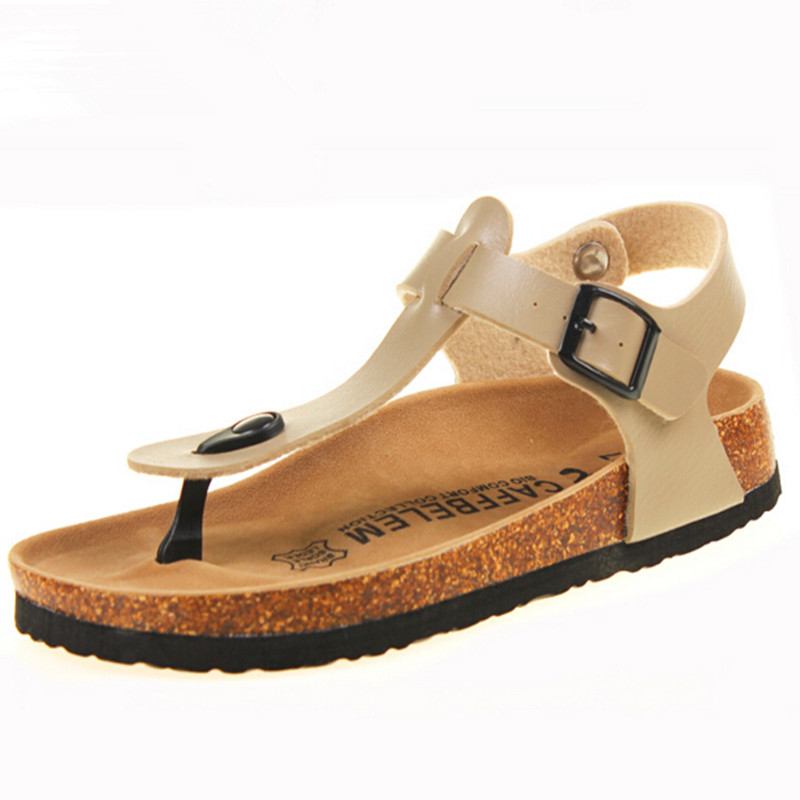 Free shipping 2014 New Men shoes Cork slippers Lovers shoes beach men Sandals for Men's shoes In the summer plus size