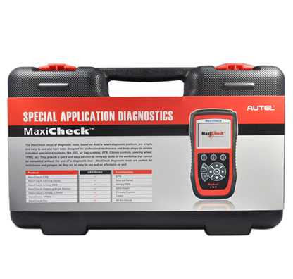 100% original automotive airbag maxicheck reads / clears codes of ABS/SRS system and turns off ABS/SRS warning light(China (Mainland))