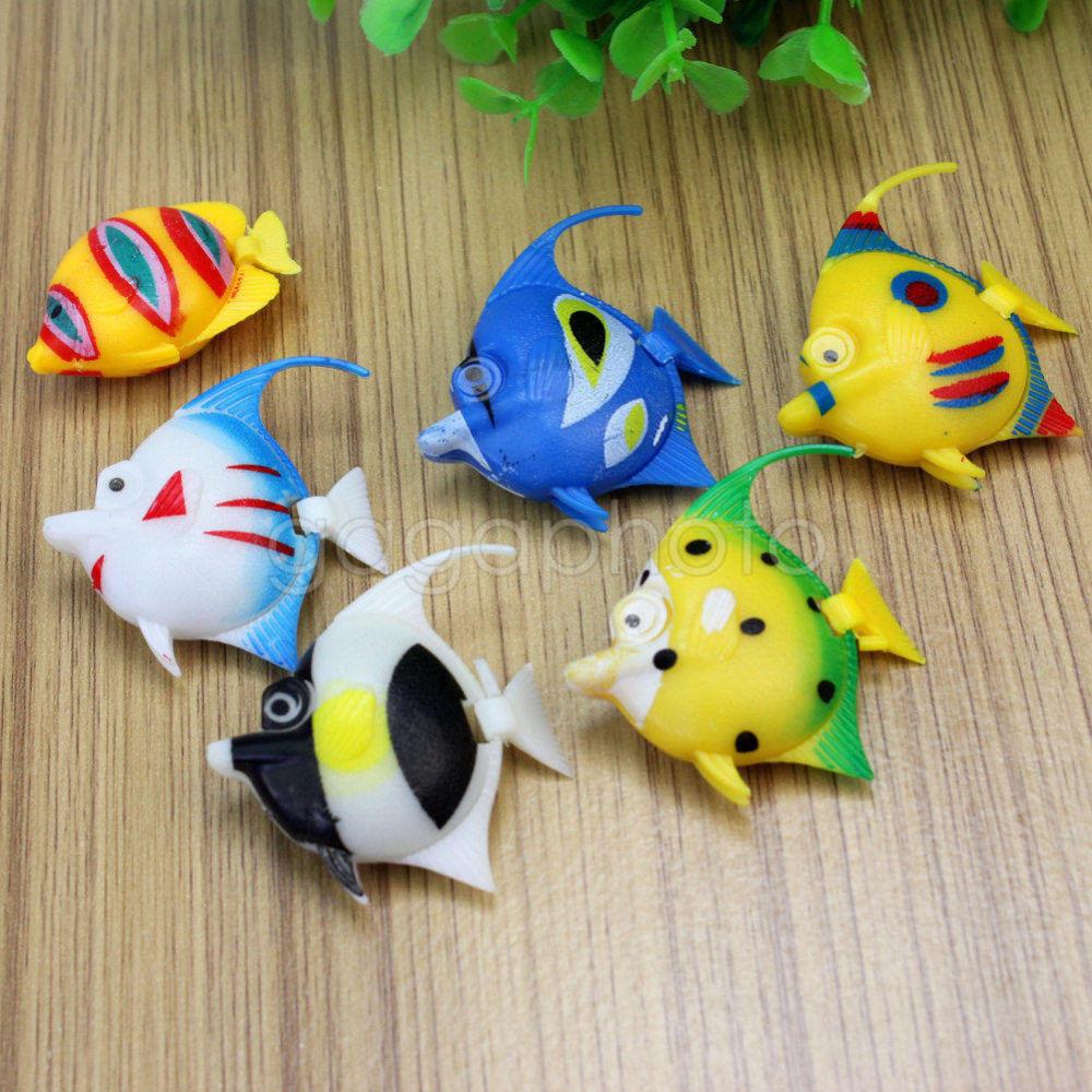Faux poissons aquarium promotion achetez des faux poissons for Jouet aquarium poisson