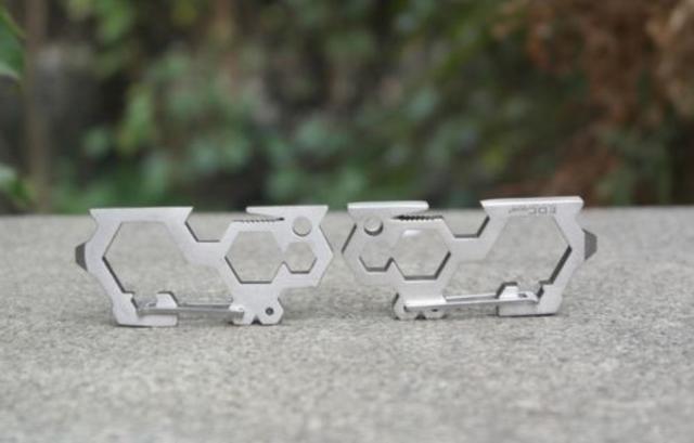 EDC Multi-Tool Carabiner Stainless Steel