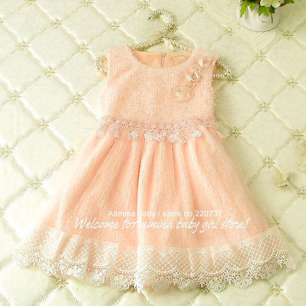 Flower kids wedding dresses,wholesale 2015 winter christmas children clothing,5pcs/lot(p2601305),2-6 years<br><br>Aliexpress