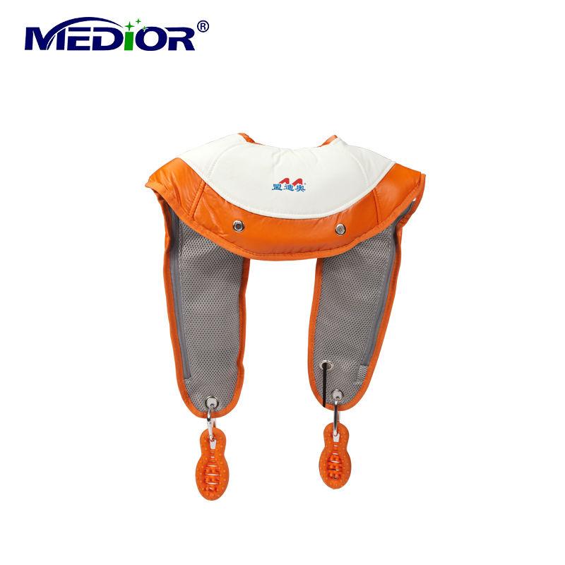 Electric Massager Massage Machine Neck Shoulder Massage Tools Vibrating Shiatsu Tapping with Heat 1011D(China (Mainland))