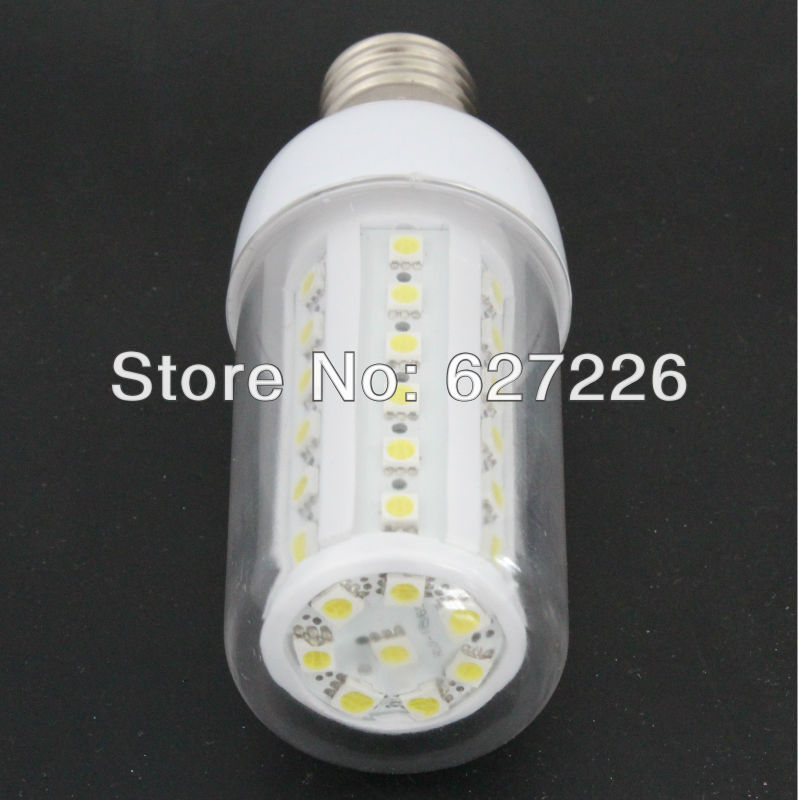 Free Shipping!Dimmable LED Corn bulb 42 leds 3 Year Warranty Warm&Cool white for option,GAUGE COVER,RoHS CE FCC 10PCs a lot(China (Mainland))