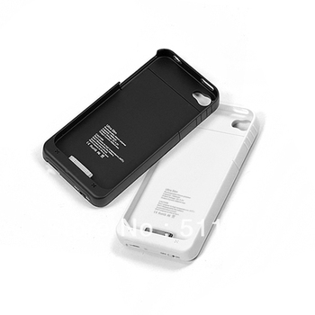 Free shipping 1900mah External Backup Battery Pack Case For iPhone 4G 8190