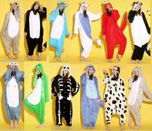 new 2015 pajama cutely animal costumes winter dress onesie pajama sets stitch Sleepwear costumes free shipping(China (Mainland))