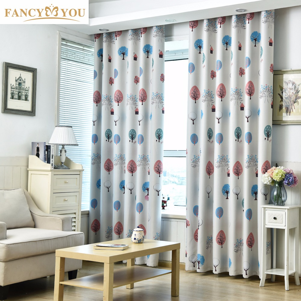 Popular fancy curtain design buy cheap fancy curtain for Kid curtains window treatments