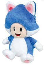 Anime Super Mario Bros 3D World plush Toys—-Neko Cat Toad