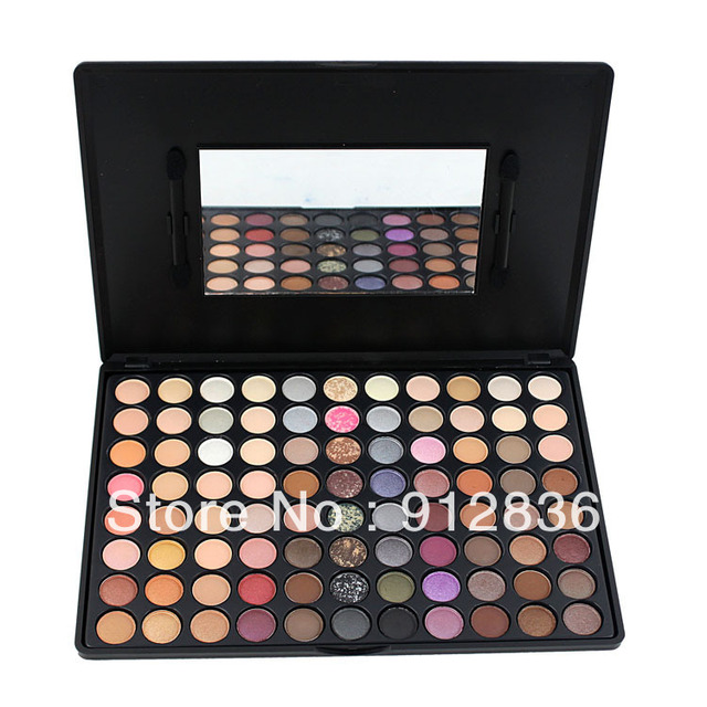88 Color Makeup Palette Eye Shadow Nude Neutral Warm Profession Eyeshadow F88 Sixplus