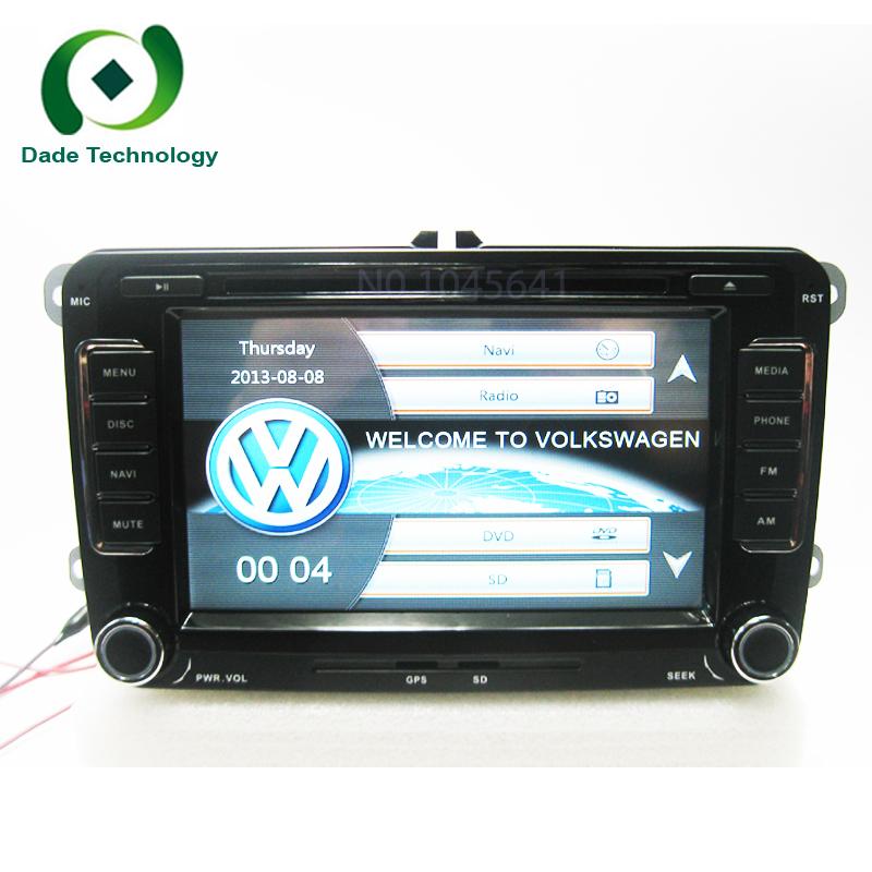 2 din Car dvd gps navigation for Volkswagen VW SKODA Universal car dvd player 2din car radio Original car features UI Bluetooth(China (Mainland))