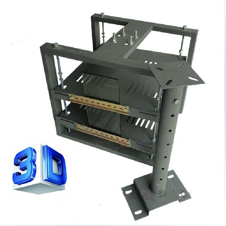 professional 3D movie theater for polarization system equipment one for two projector ceiling mount motorized projector lift(China (Mainland))