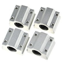 4 PCS/lot SC8UU SCS8UU 8mm Linear Ball Bearing Block CNC Router Reprap 3D printer DIY Kit Accessories